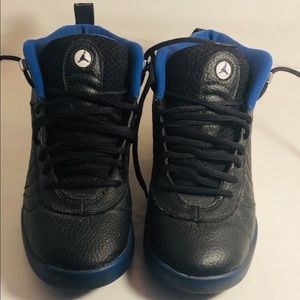 Black and blue jumpmans